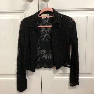 Cache Lace Bolero Jacket